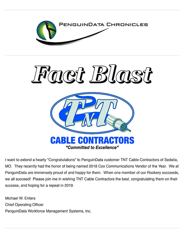 Fact Blast, Paycheck Services